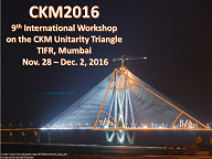 9th International Workshop on the CKM Unitarity Triangle